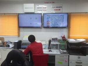事務所テレビ