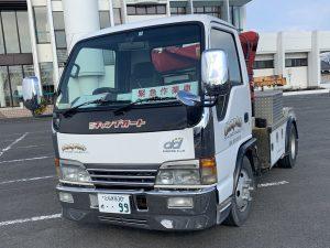 小型クレーン付き    レッカー車(緊急車両)